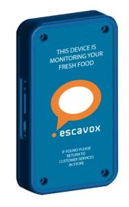 Escavox blue-box tracker